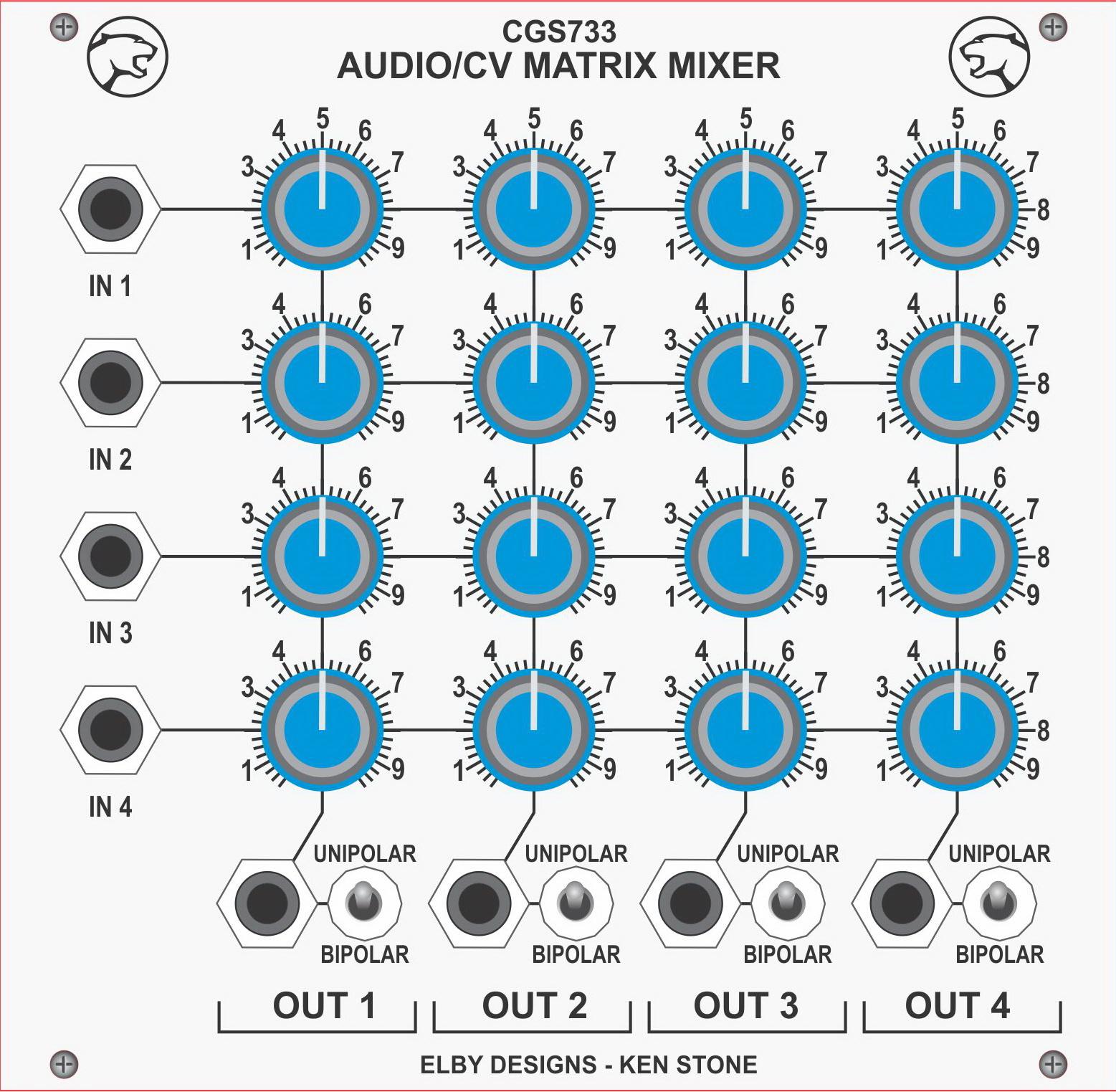 Ken Stones Modular Synthesizer Audio Mixer Inverting Summing Circuit Diagram Parts List